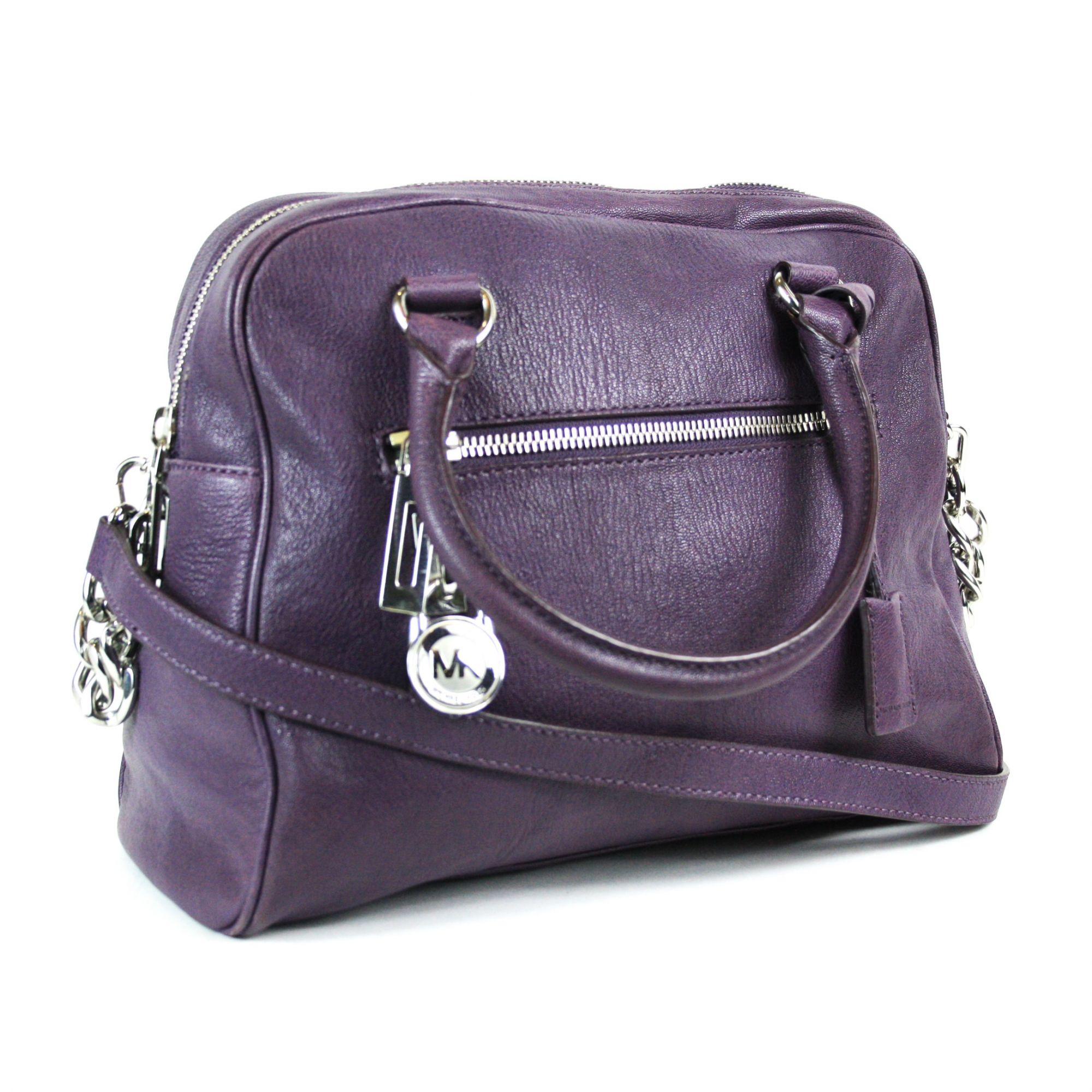 Leather  Top Handle Shoulder Bag