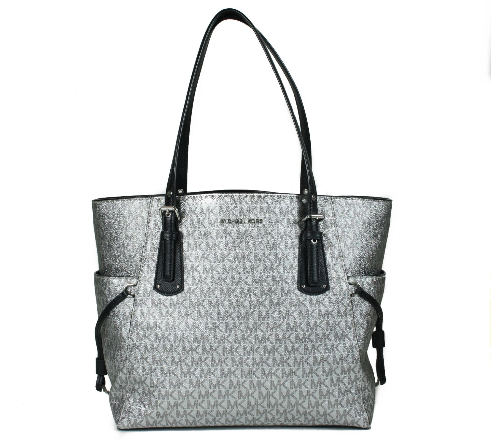Silver Voyager Large Tote