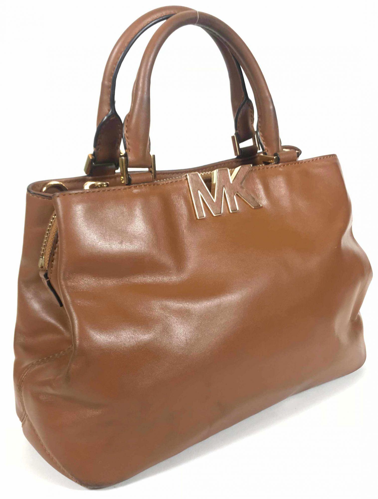 Michael Kors Florence Leather Satchel Bag