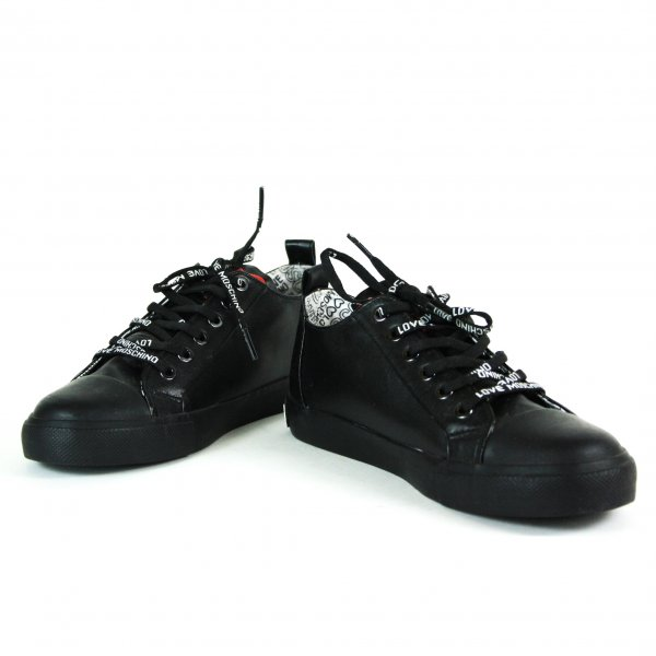 Leather Sneakers (Size: 37)