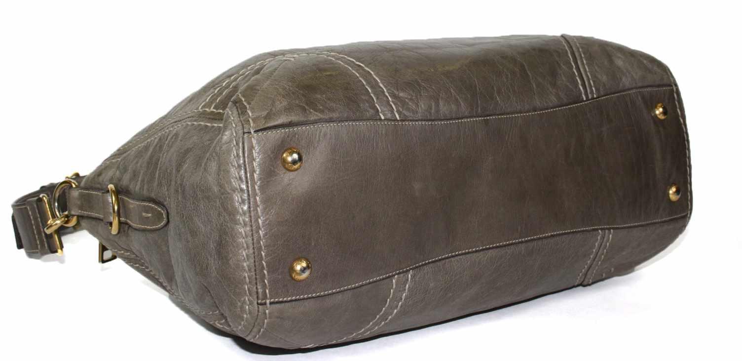 Palissandro Vitello Shine Leather East/West Bauletto Bag BL0728