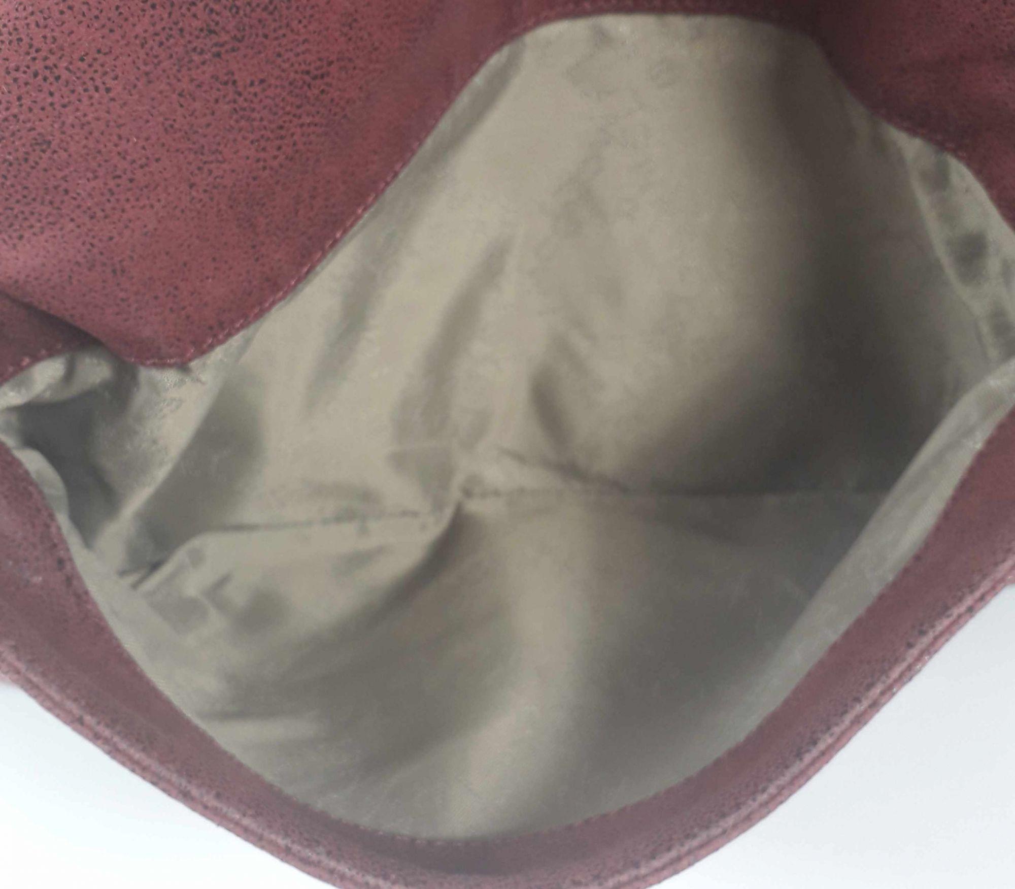 Double Flap Faux Leather Clutch