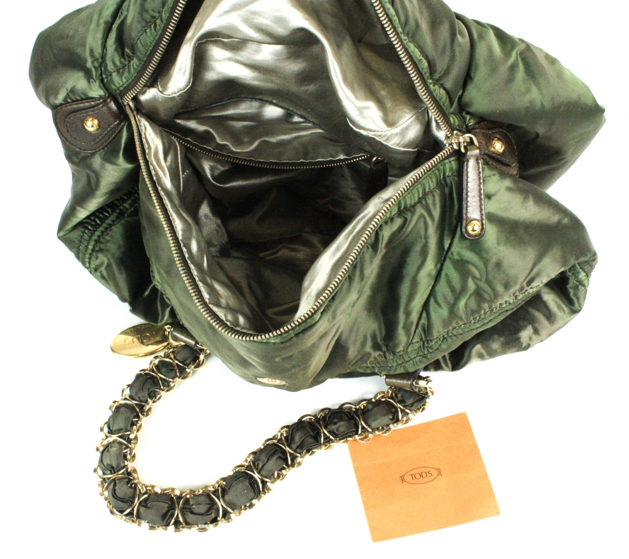 Pashmy Shoulder Bag with Chain