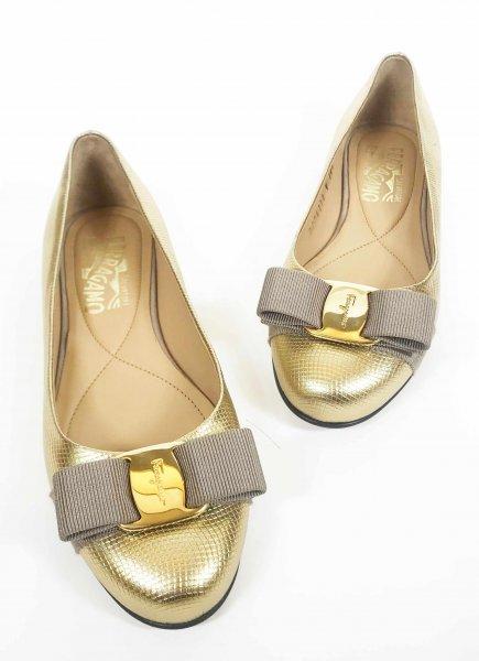 Varina Classic Bow Flats (Size 4.5)