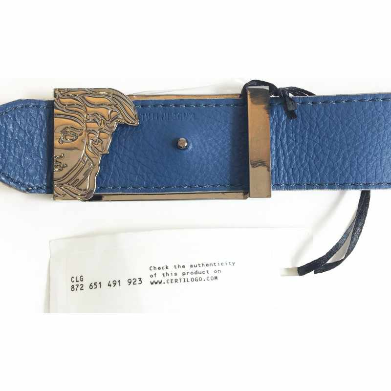 Versace Collection Leather Belt Mens (SIZE 42