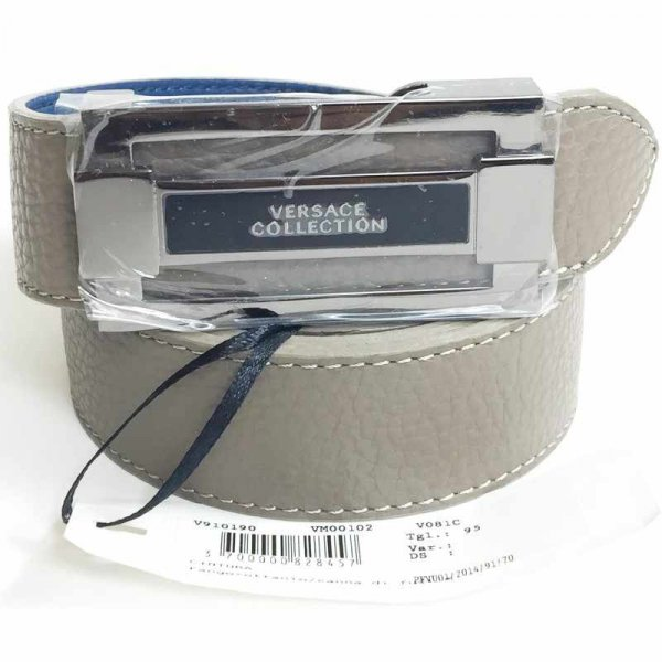 """Versace Collection Leather Belt Mens (SIZE 42"""")"""