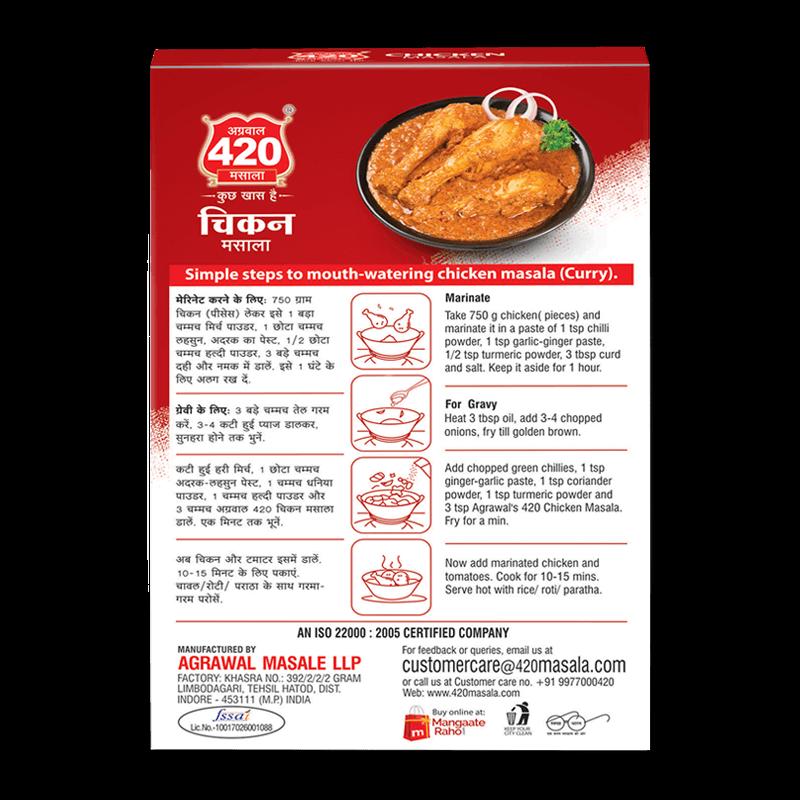 420 Chicken Masala
