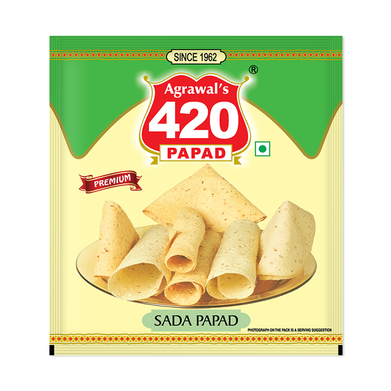 420 Sada Papad ( Premium )