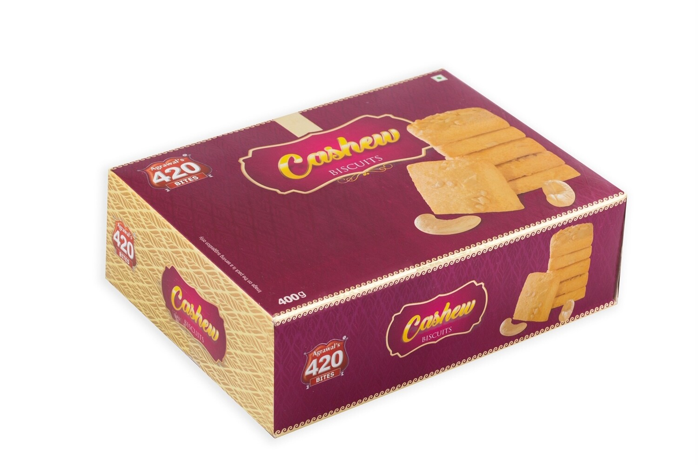 420 Cashew Biscuits