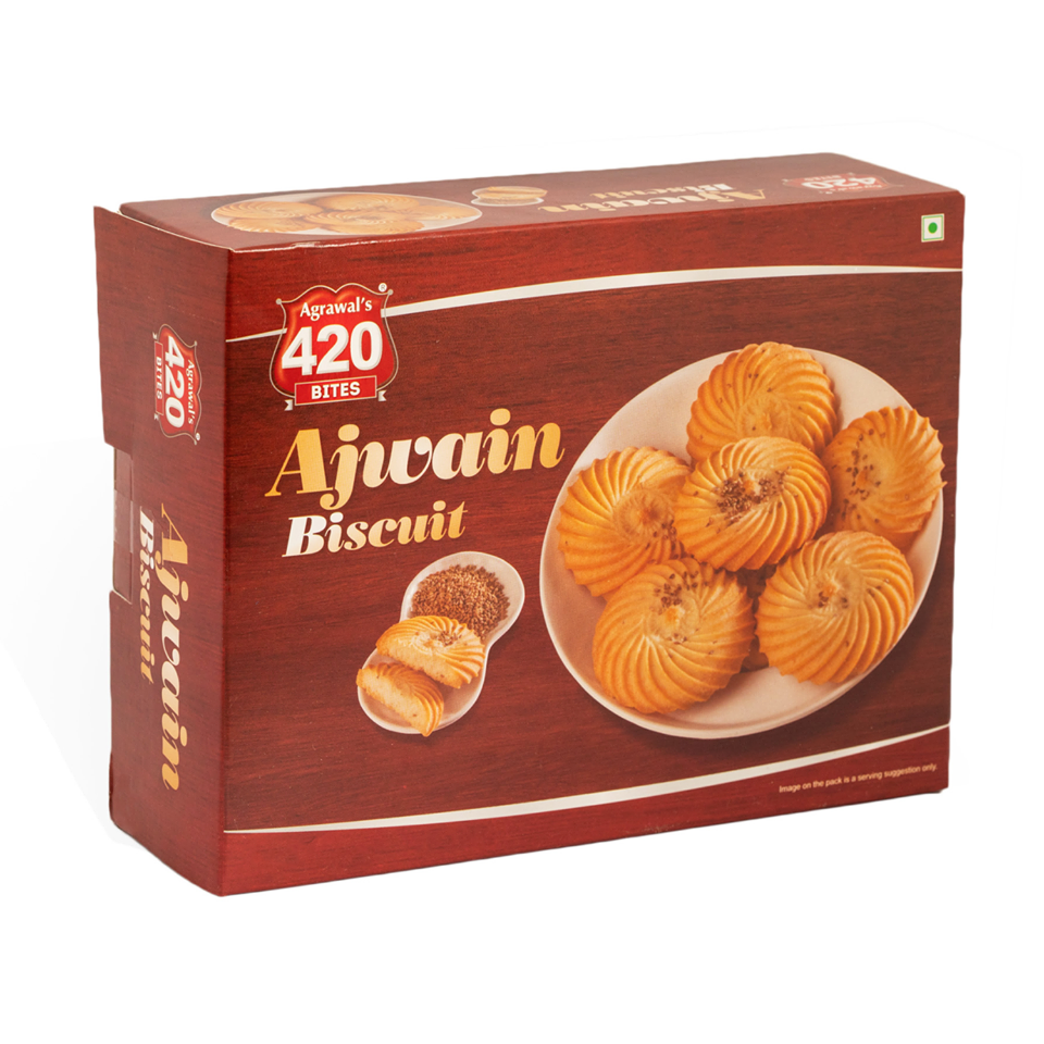 420 Ajwain Biscuits