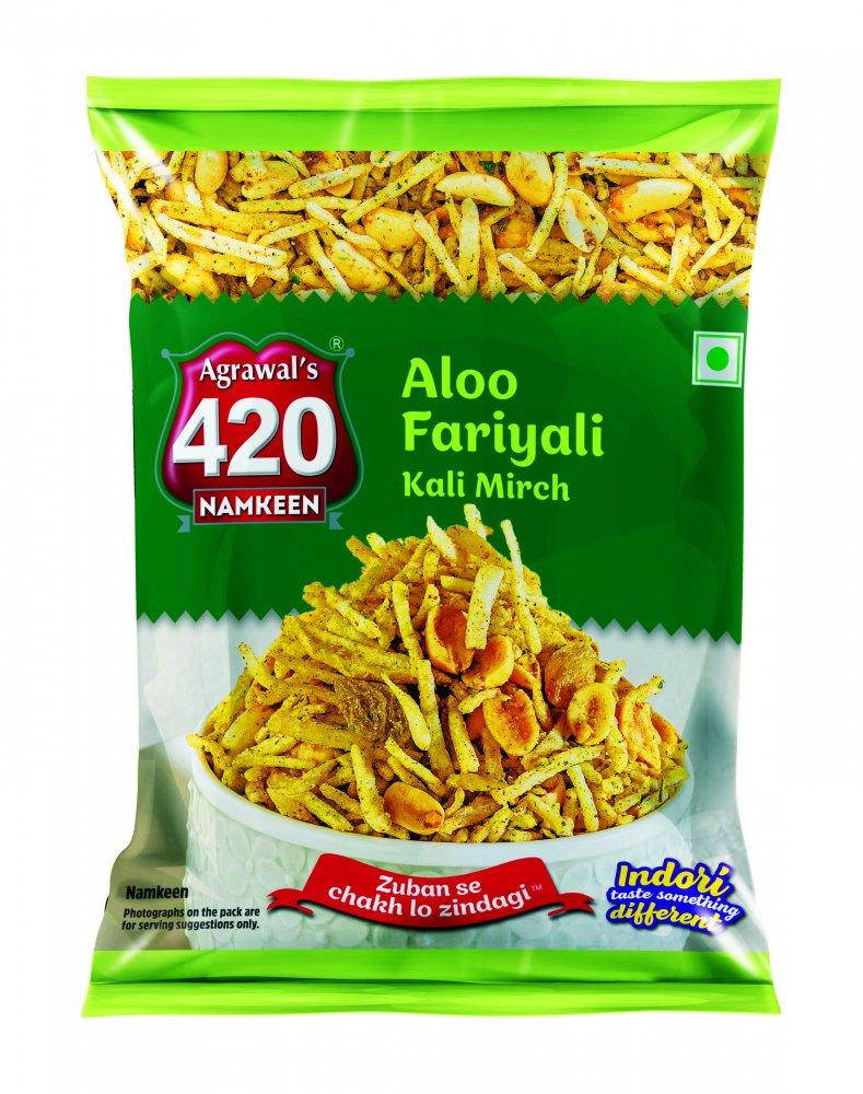 420 Aloo Fariyali Kali Mirch
