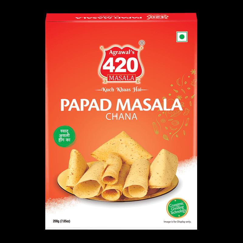 420 Chana Papad Masala