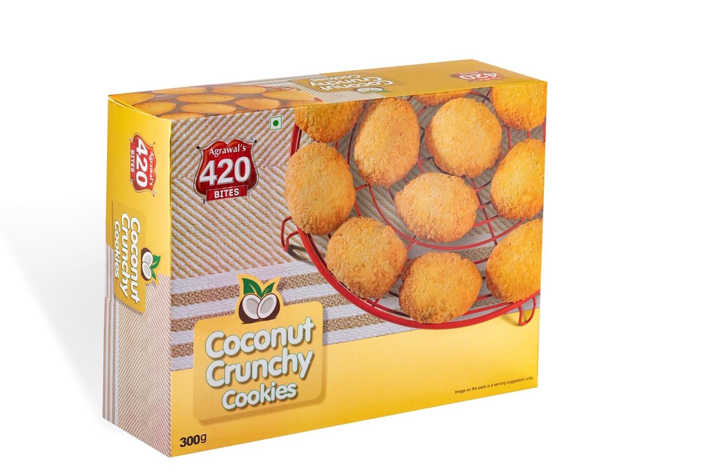 420 Coconut Crunchy Cookies