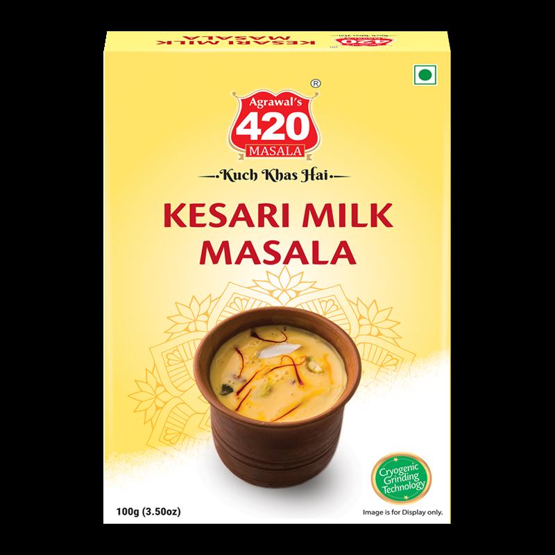 420 Kesari Milk Masala
