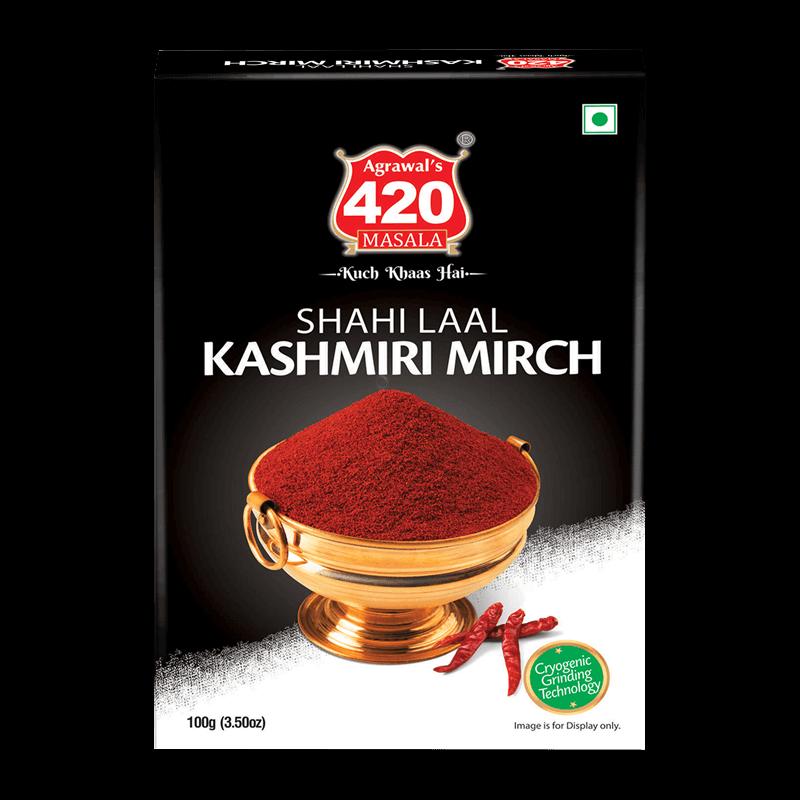 420 Shahi Lal Red Chilli Powder (Kashmiri Mirchi)