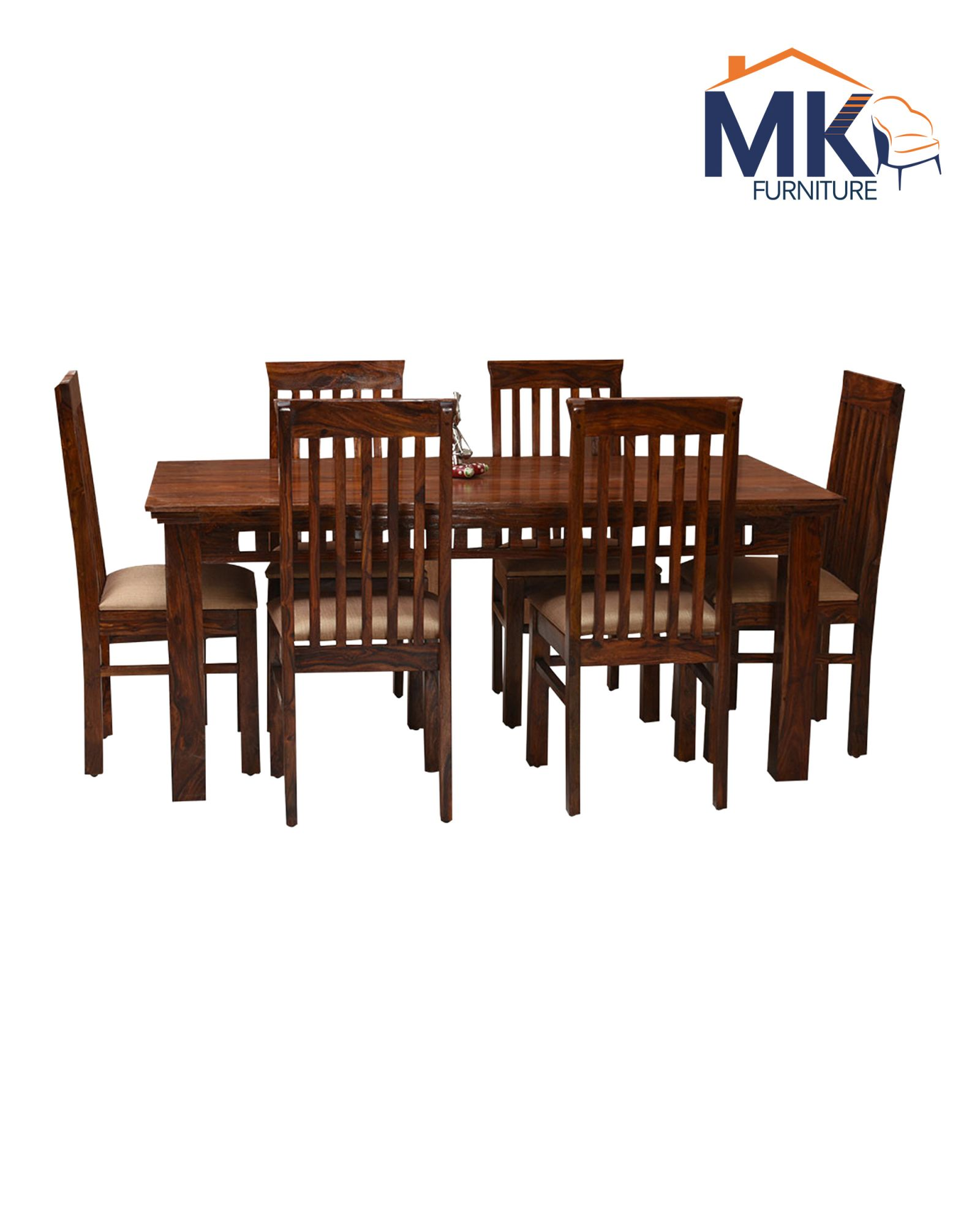 Ariana 6 Seater Dining Set  Solid Wood