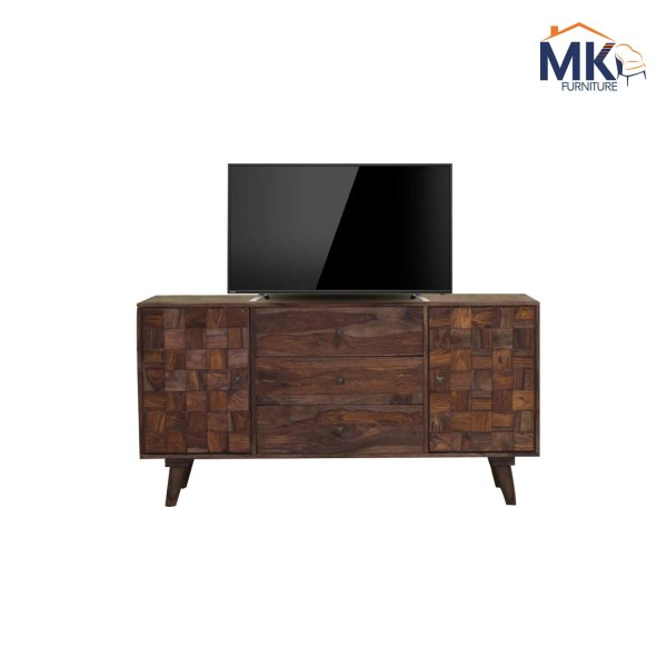 Solid Wood Trocy TV Cabinet