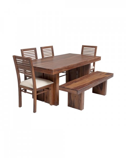 solid wooden 6 seater  dining set