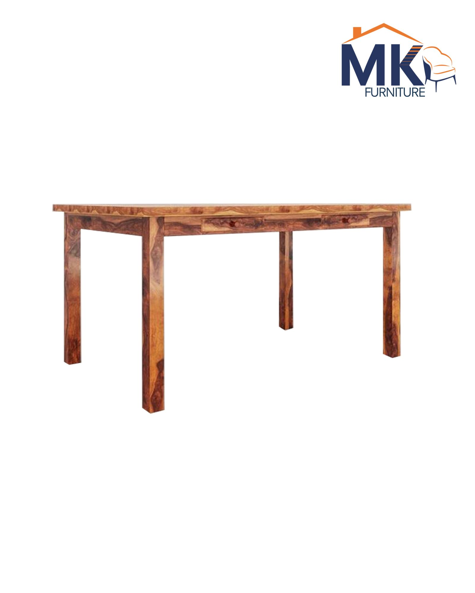 6 seater dining table with bench
