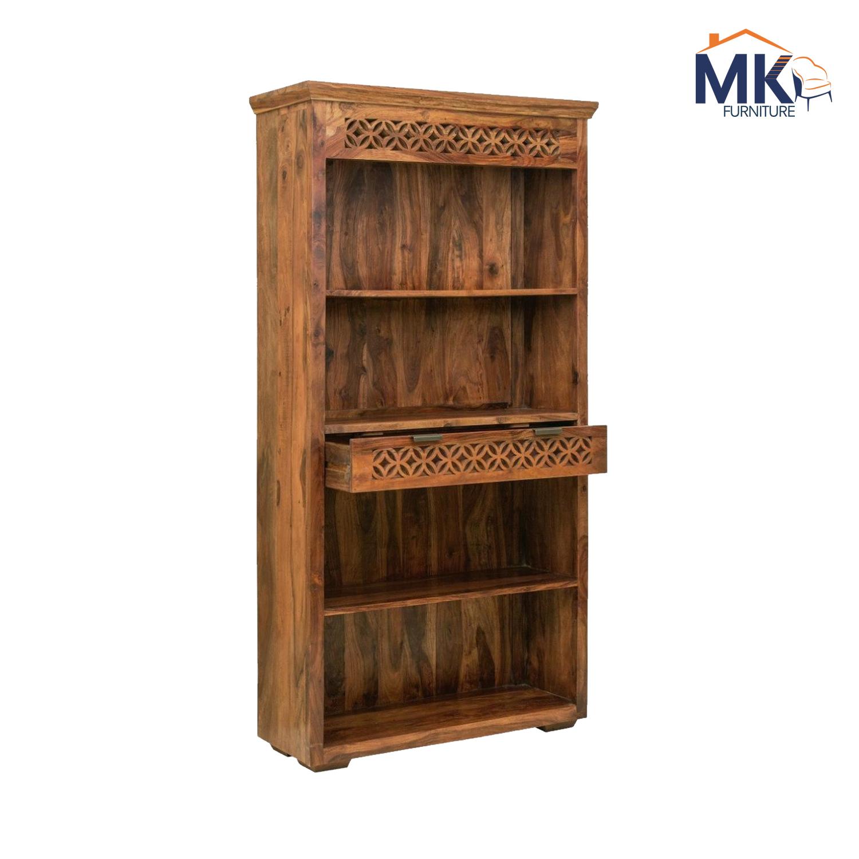 Open  Wooden Book Shelf/  Bookcase