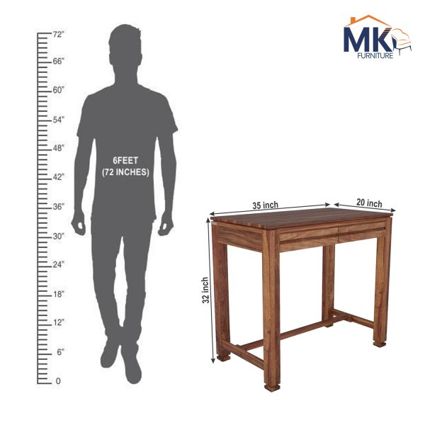 Study Table With Drawer