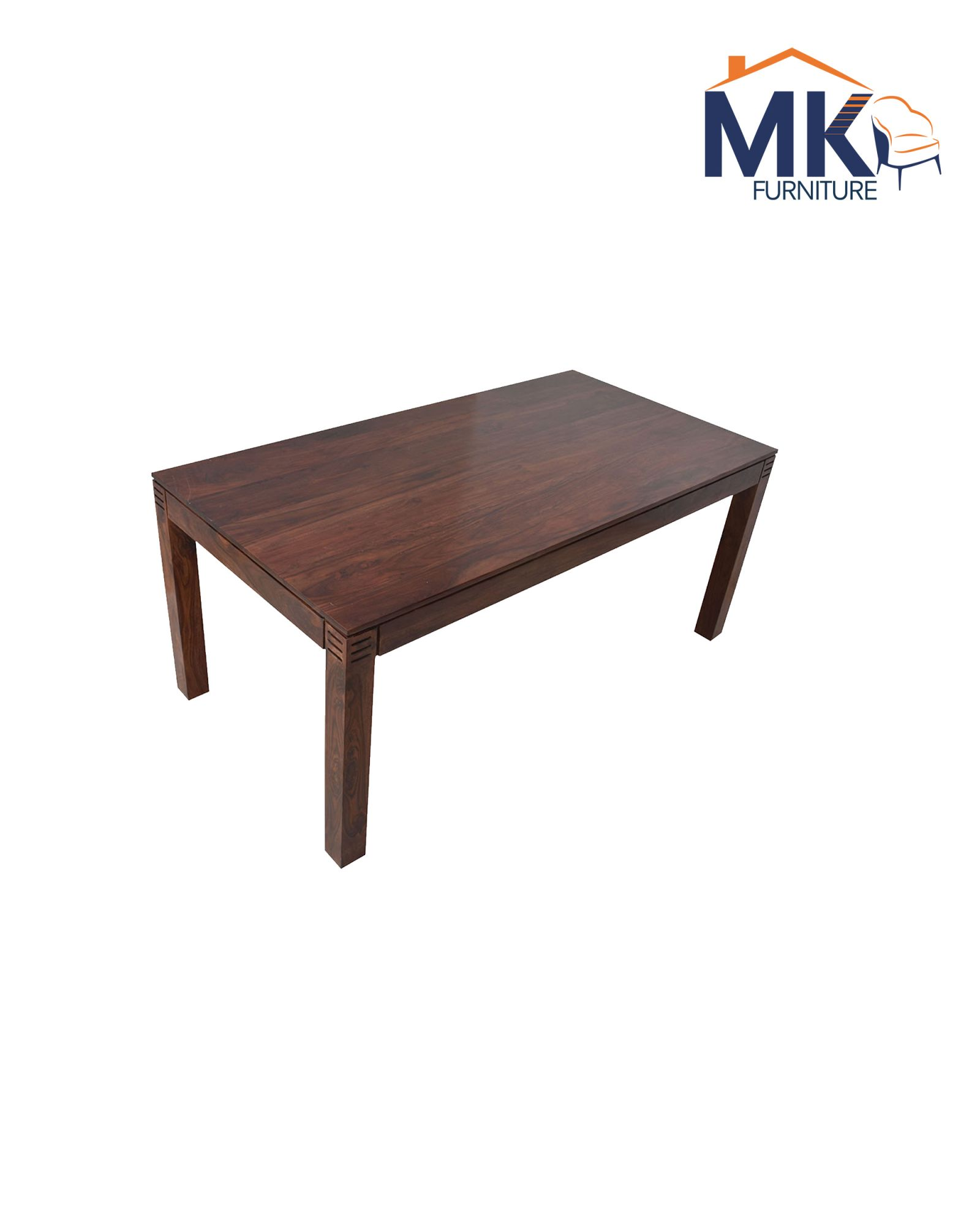 Adolph 6 Seater Dining Set Solid Wood