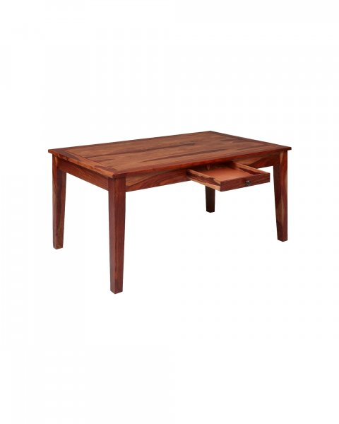 Solid Wooden 6 Seater Dining Set In Honey colour