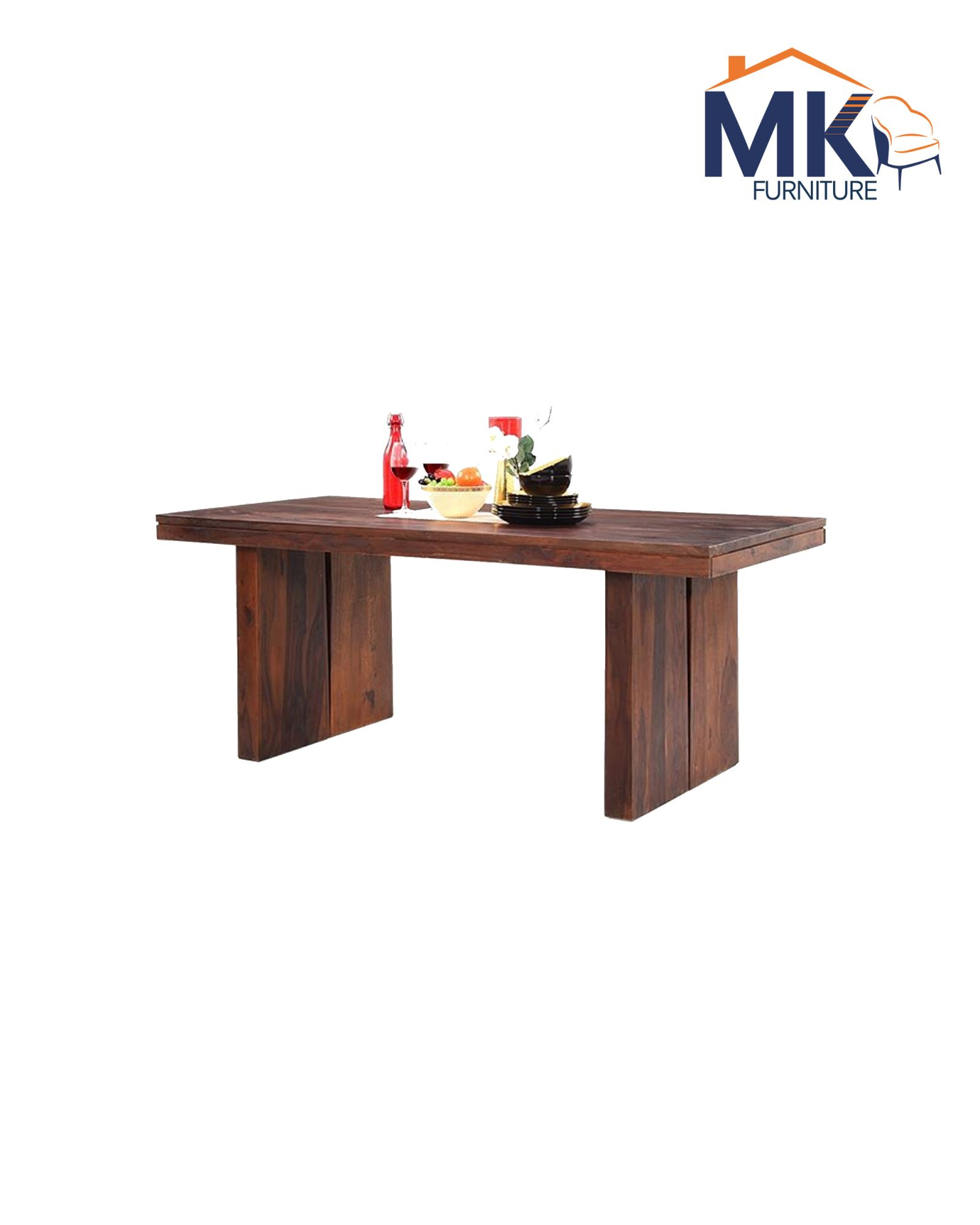 6 Seater Solid  Sheesham wood dining Set