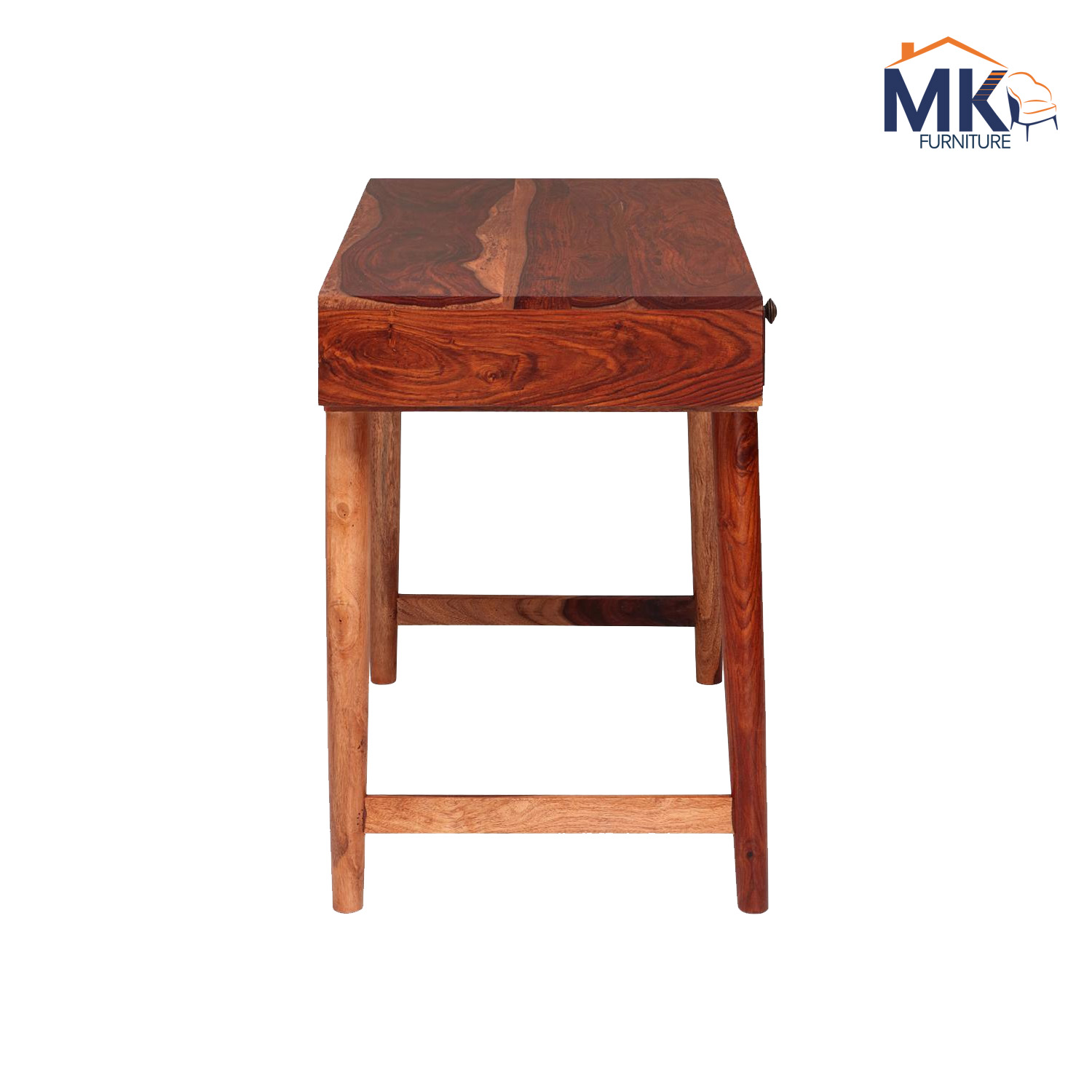 Solid Wood Study Table - Honey