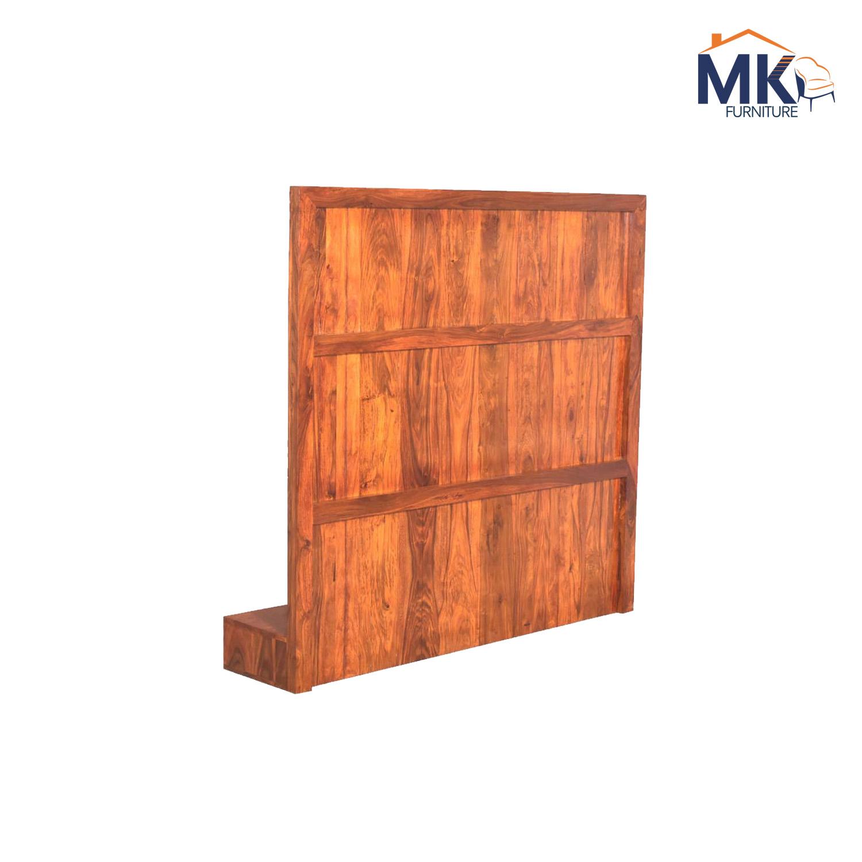 Wall Mount  TV Units Solid Wood Sheesham (Honey)
