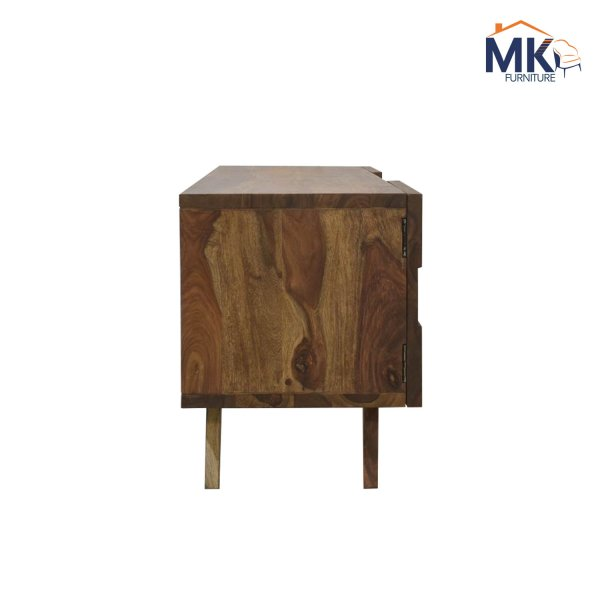 TV Stand In Solid Sheesham Wood (Teak)