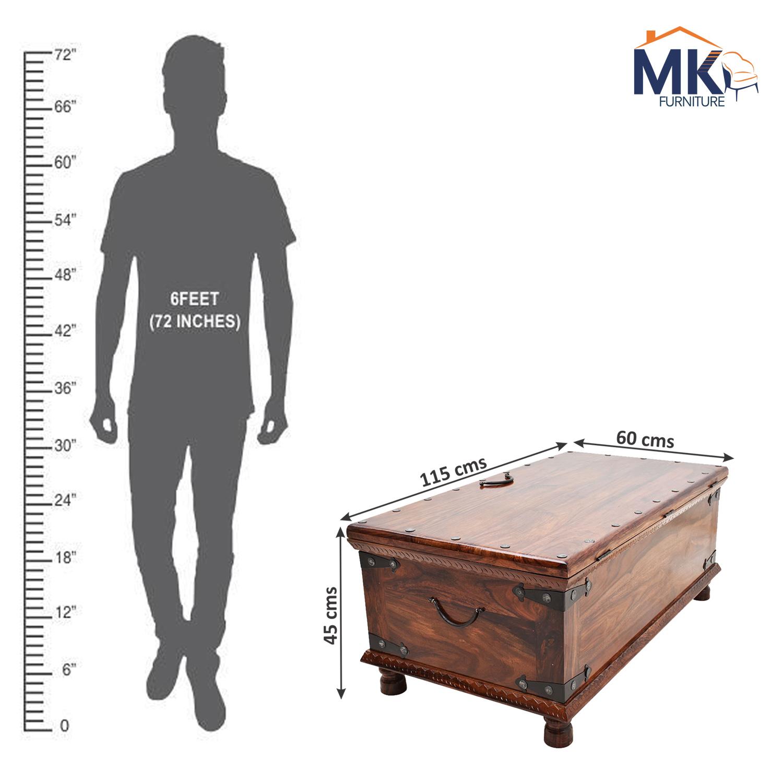 Solid Wood Sheesham Box