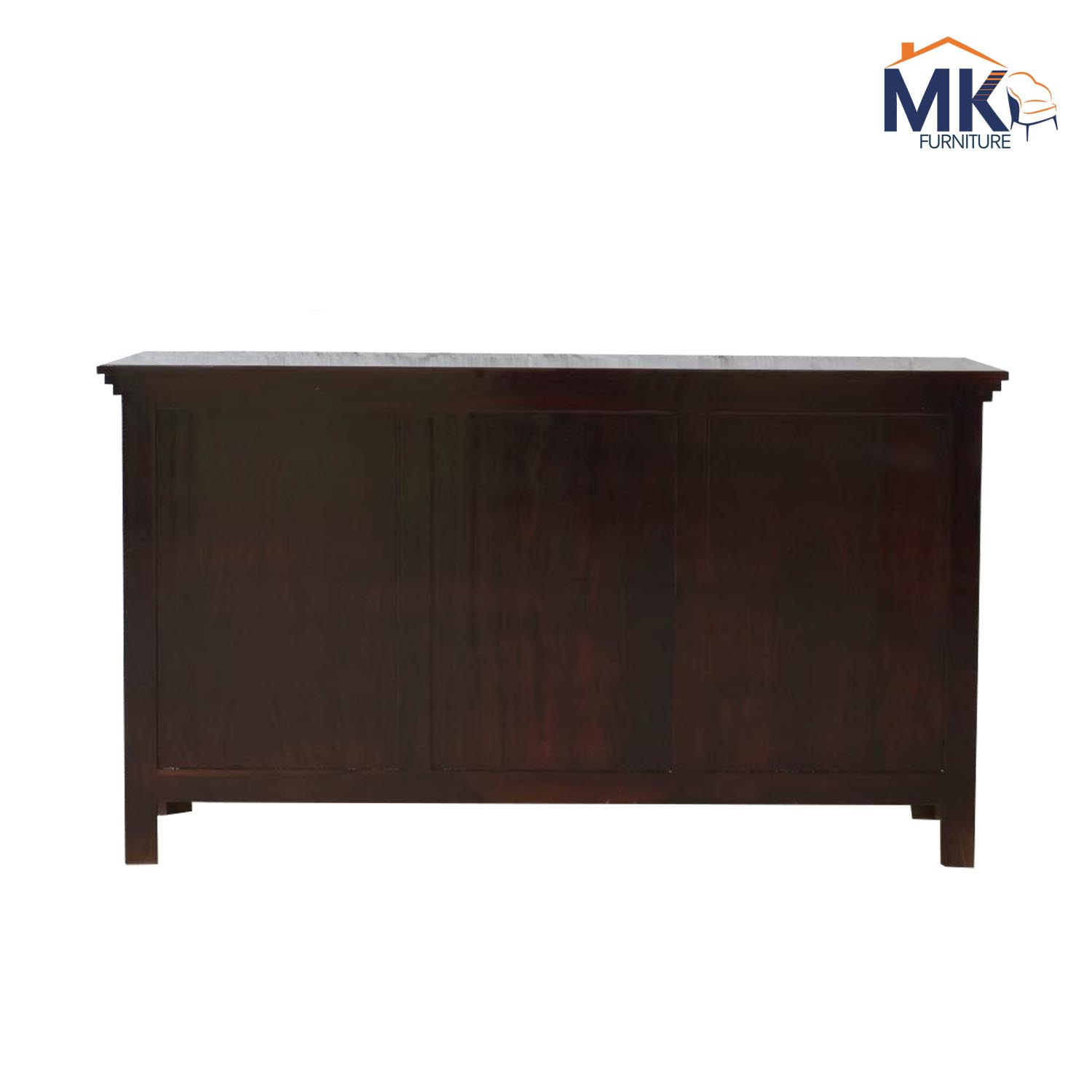 Garry  Solid Wood Chest Of Drawers  In Walnut Polish