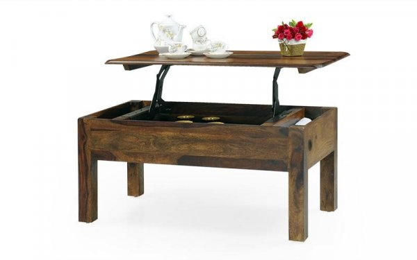 Wooden Lift Top Storage Coffee Table