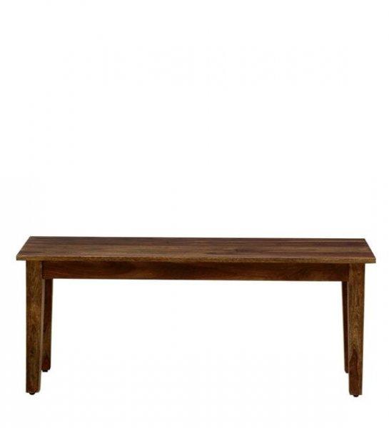 Aureole Solid Wood 6 Seater Dining Set in Teak Finish