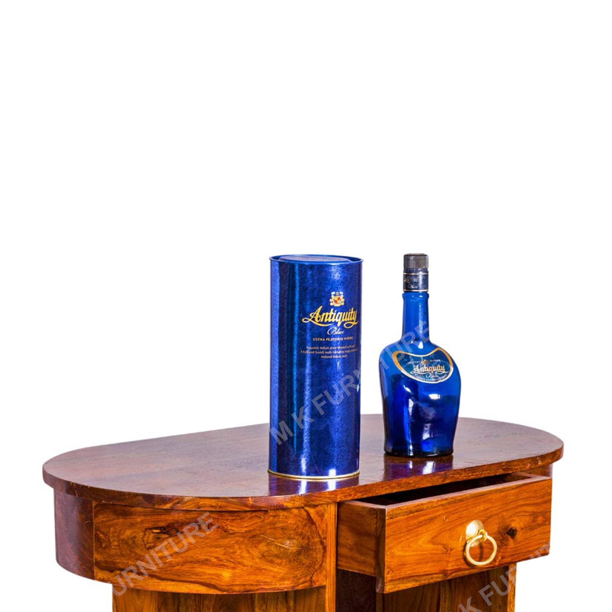 Solid Sheesham Wood Trolley/Bar