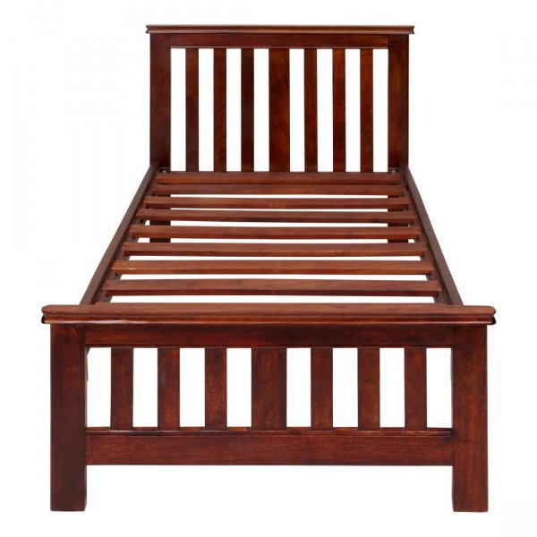 Solid woodeen Single Bed Without Storage