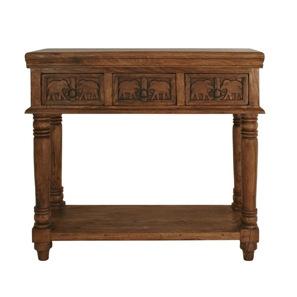 Wooden Console table Honey