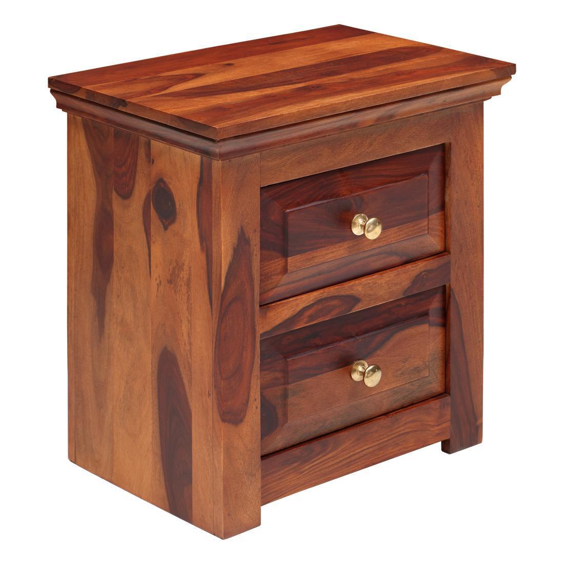 Solidwood Bedside Table- Teak
