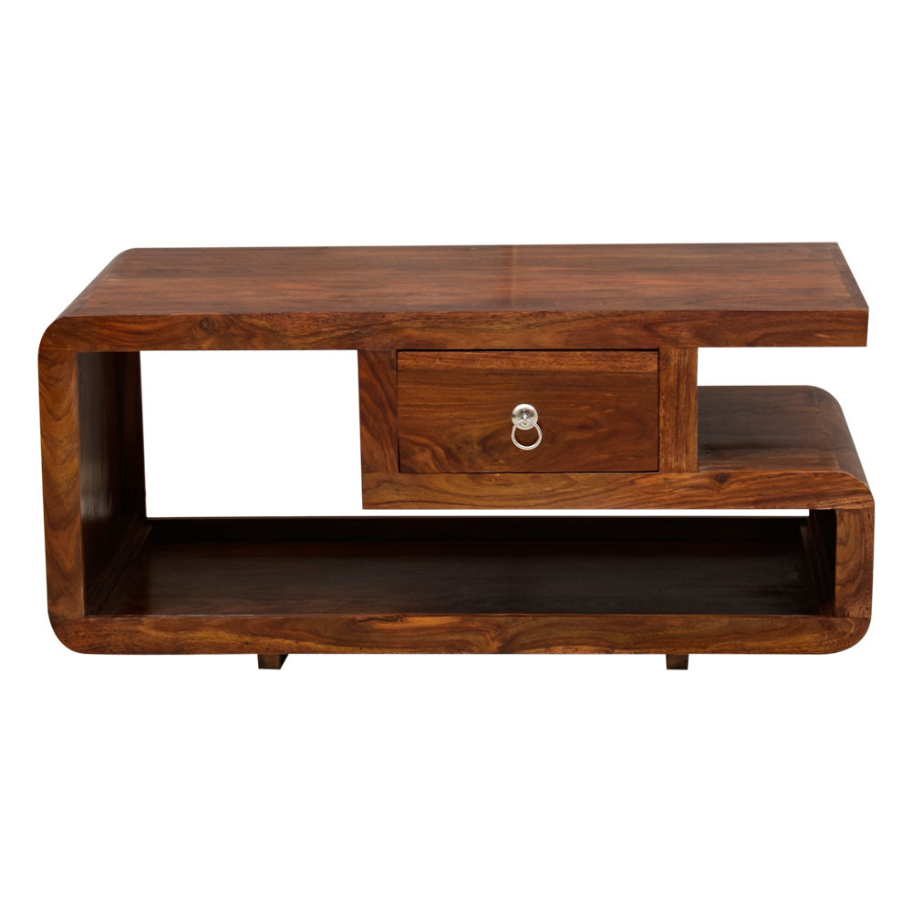 Top Drawer Center Table Solid Sheesham Wood