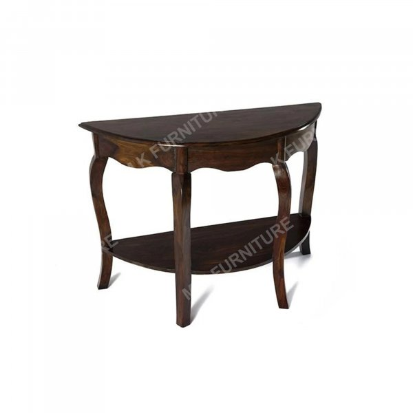 wooden solid  console table