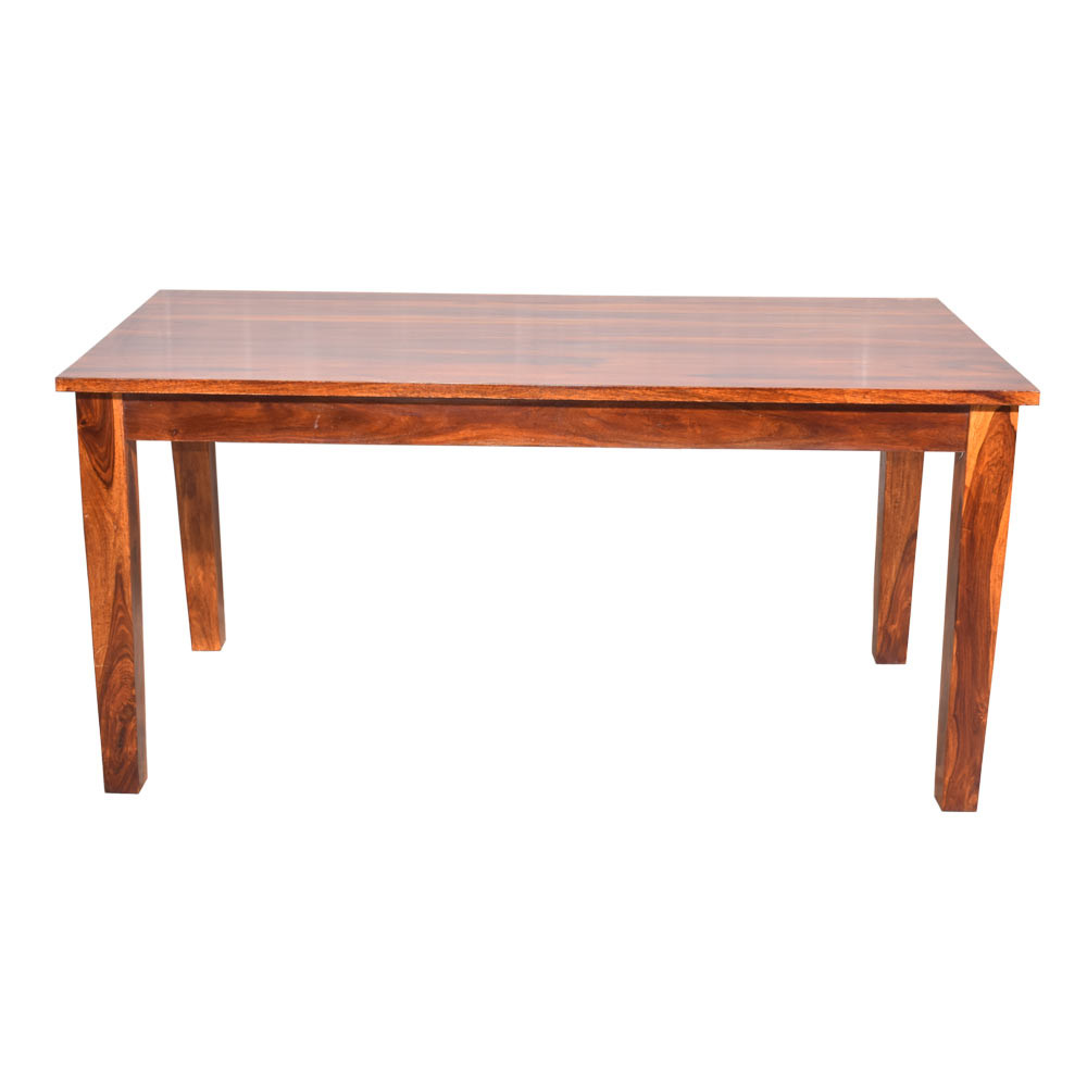 6 Seater Dining Set In Solid Wooden