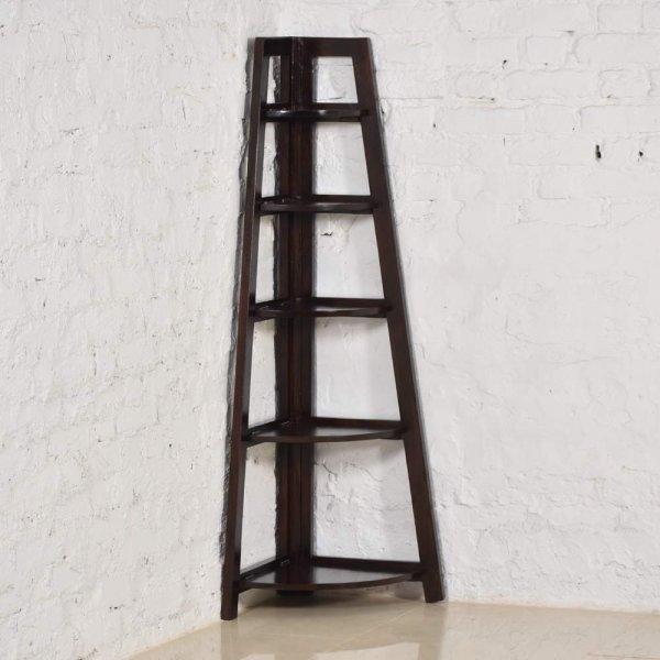 Sheesham Solid Wood Corner Shelf
