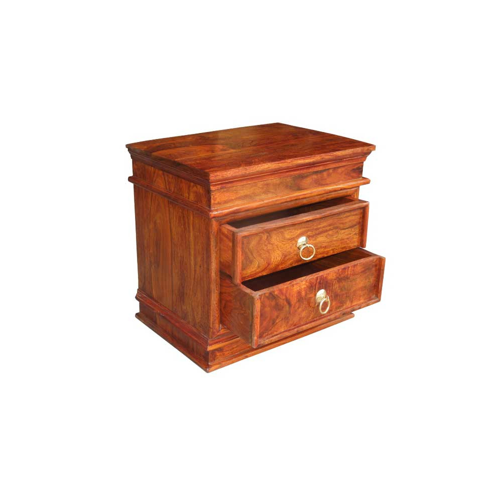 Solid Wooden Bedside Table