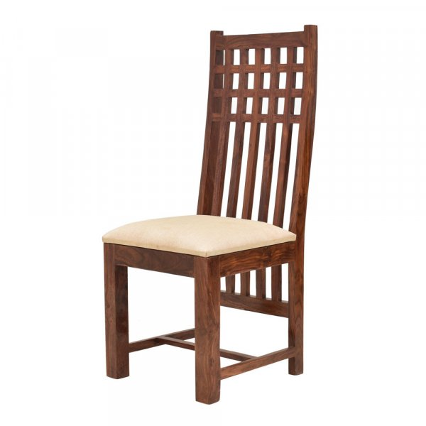 Solid Wood Dining Chairs With Cushion