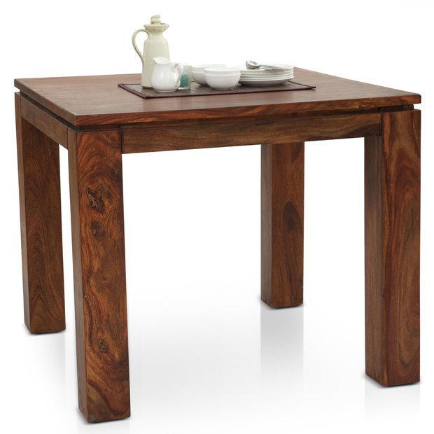 Solid Wood 4 Seater Dining Set