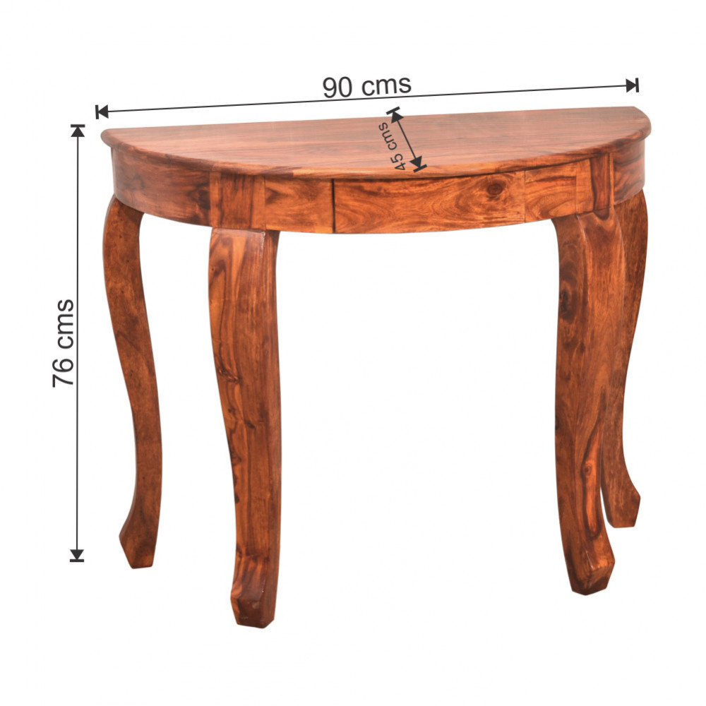 Anne Solid Wood Console Table