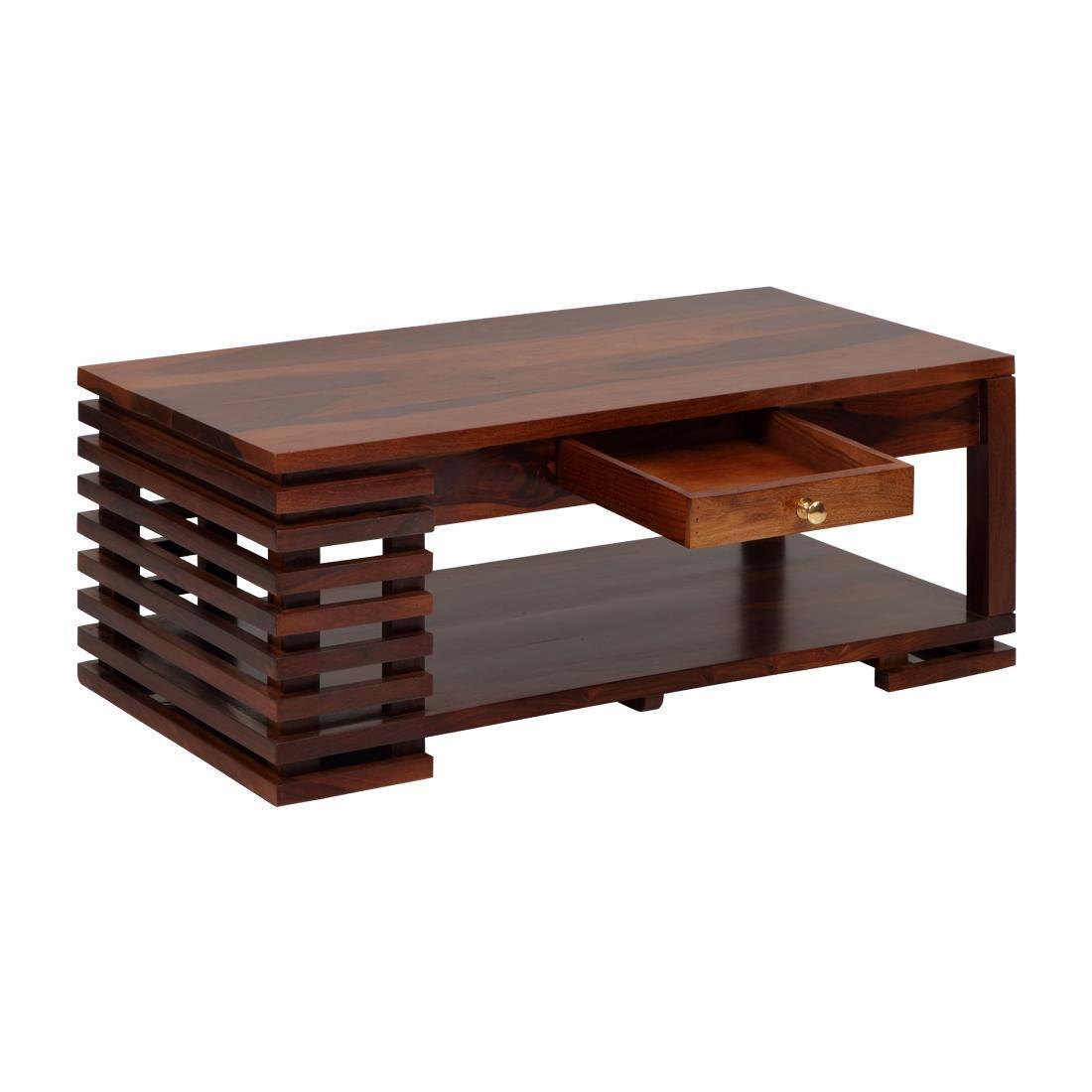 Nord Solidwood Coffee Table-Teak
