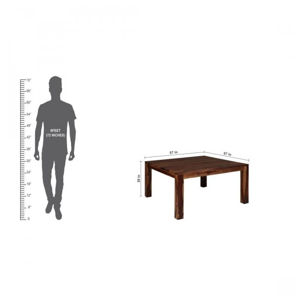 Solidwood 8 Seater Dining Table