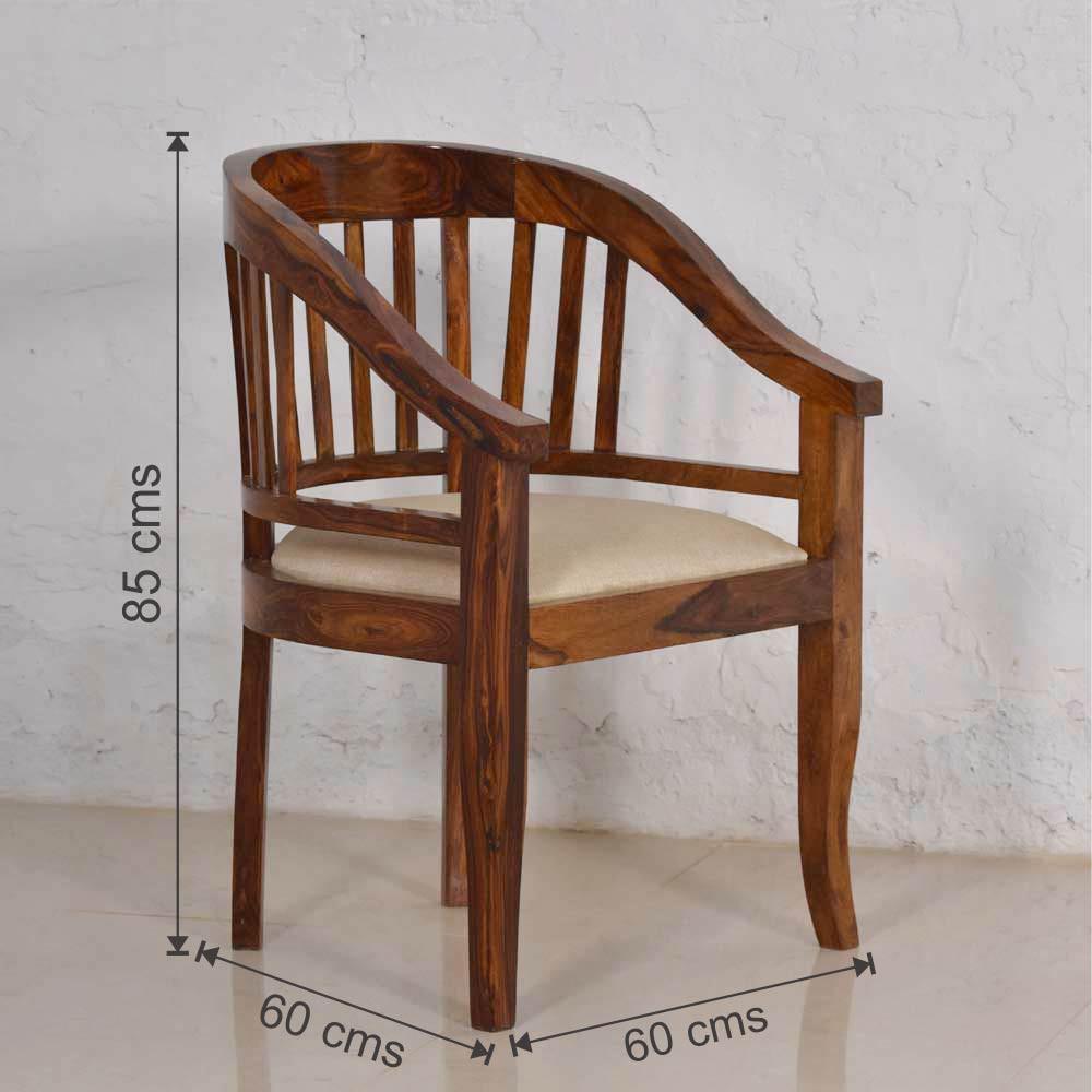 Wooden Arm  Easy Comfort Chair